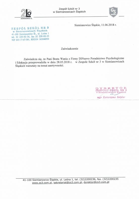 zsp3-referencje-dinuovo-beata-wania